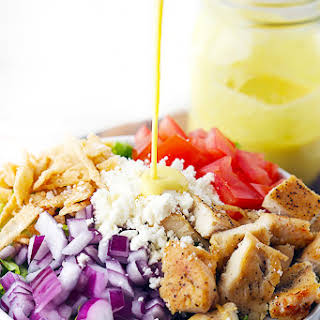 Honey Mustard Chicken Chopped Salad.