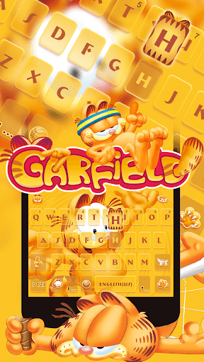 Garfield Kika Keyboard Theme