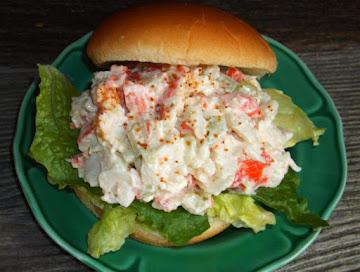 Cajun Crab Salad Sandwich Recipe
