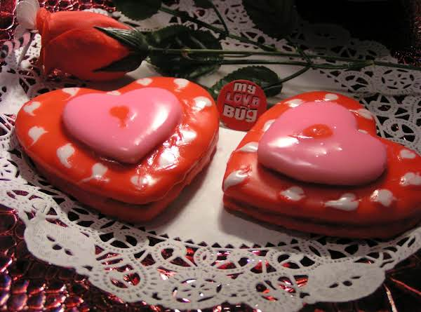 I Heart You Cookies For My Sweetheart Recipe
