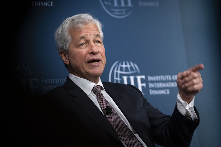 JPMorgan Chase CEO Jamie Dimon. Picture: AL DRAGO/BLOOMBERG
