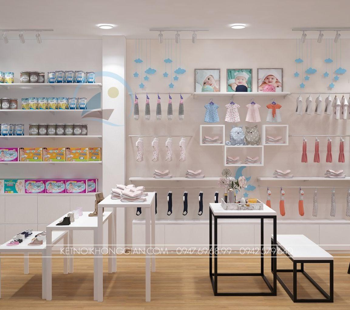 thiết kế shop thời trang trẻ em giá rẻ 12