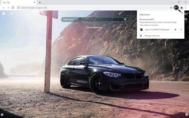 Sports Car BMW HD Wallpapers New Tab