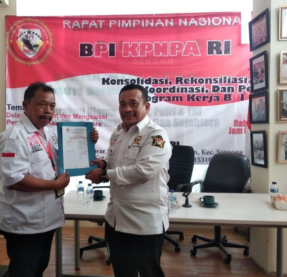 """"""" BPI KPNPA RI Kecam Aksi teror di Mabes Polri, Namun Kritik System Pengamanan Yang Lemah """""""