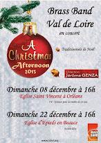 Le Brass Band Val de Loire dans l'ambiance de Noël