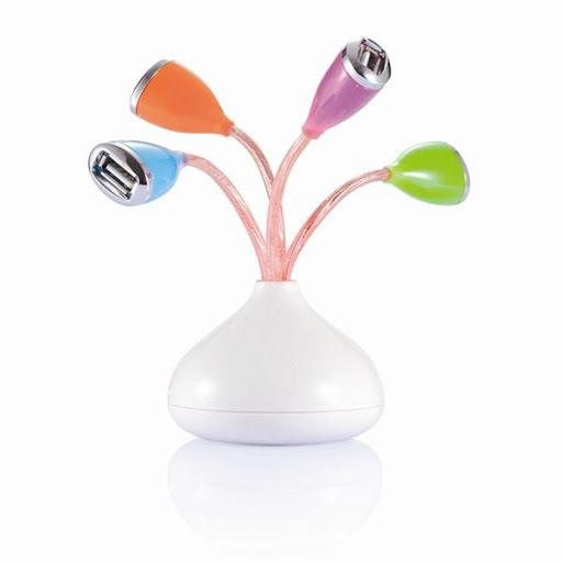 USB Flower Hub