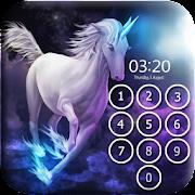 Unicorn Lock Screen