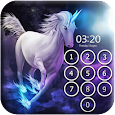 Unicorn Pin Lock Screen apk