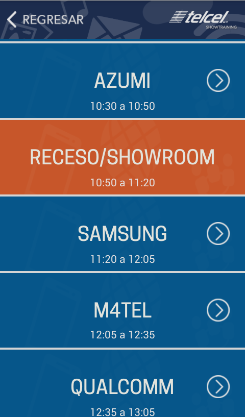 Telcel Showtraining 2015- screenshot