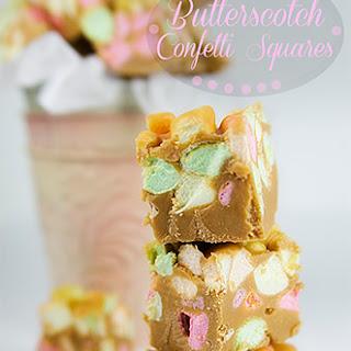 Butterscotch Confetti Squares.