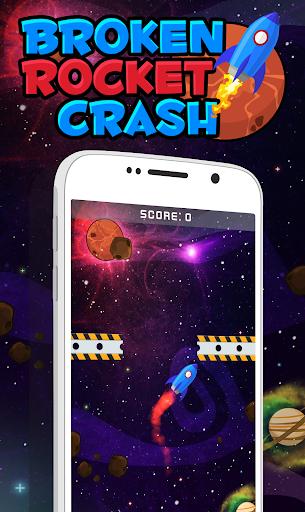 Broken Rocket Crash