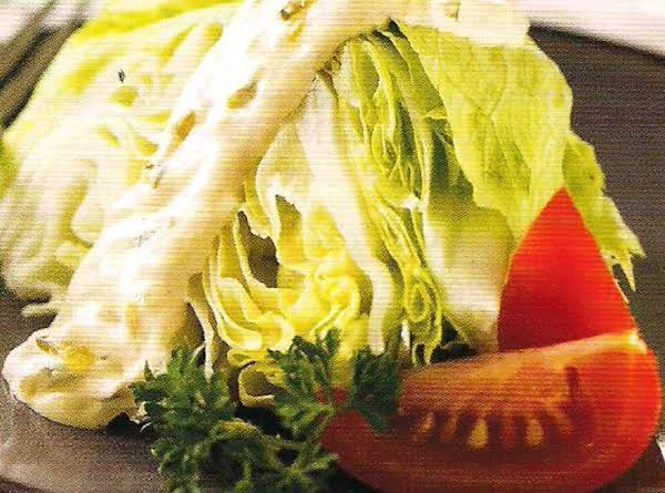 Classic Iceberg Salad With Thousand Island Dressing Recipe