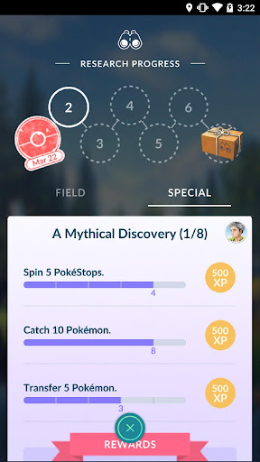 Pokémon GO 0.109.2 screenshots 3