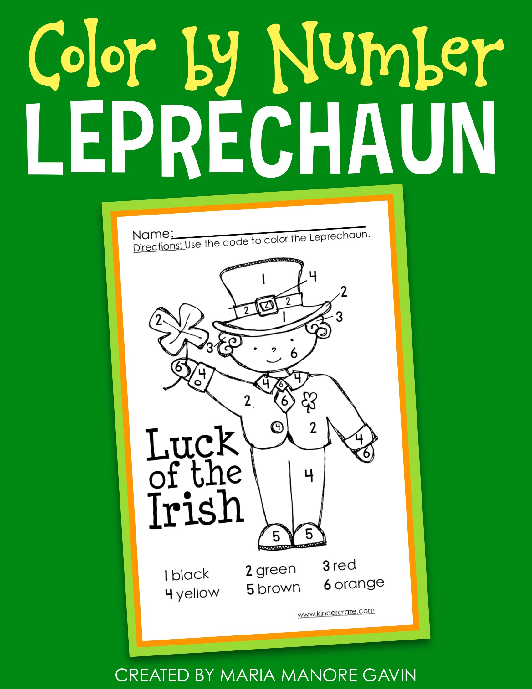 St. Patrick\'s Day Activities, Emergent Reader & a Freebie!