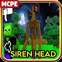 Siren Head Horror Craft Mod MC Pocket Edition icon