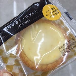 濃厚焼きチーズタルト コンビニオリジナル