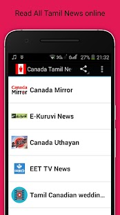 Canada Tamil News and Radios - náhled