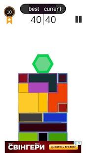 Hexa rainbow - Puzzel - náhled