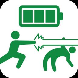 Androidアプリ 電池長持ち 面白い棒人間 ピクト節電 電池残量表示 カスタマイズ Androrank アンドロランク