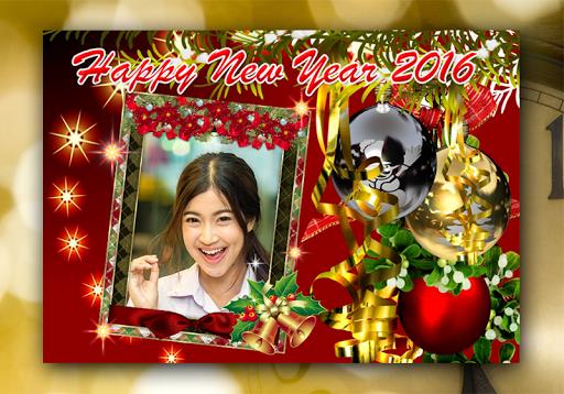 2016 New Year Photo Frame HD