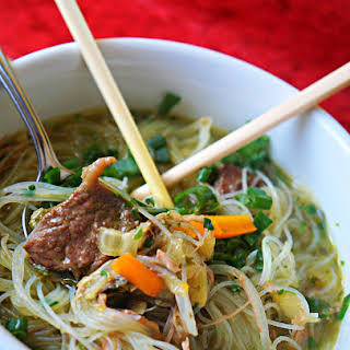 Thupka…Nepali/North East Indian Noodle Soup.