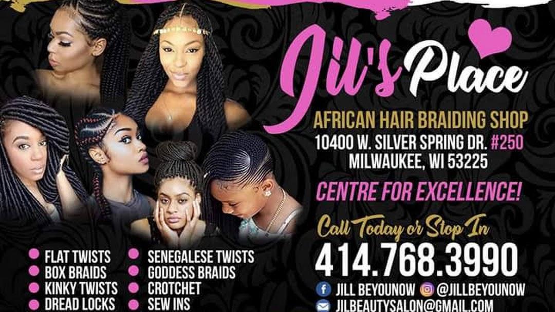 Jils Place African Hair Braiding Shop Hairdresser In Milwaukee