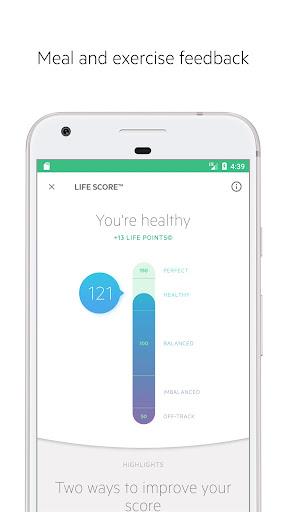 Lifesum: Healthy Lifestyle, Diet & Meal Planner Screenshot