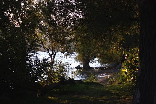 tramonto al lago di cri64