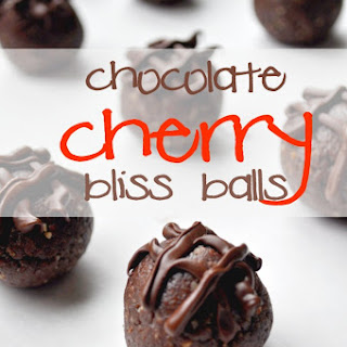 Chocolate Cherry Bliss Balls