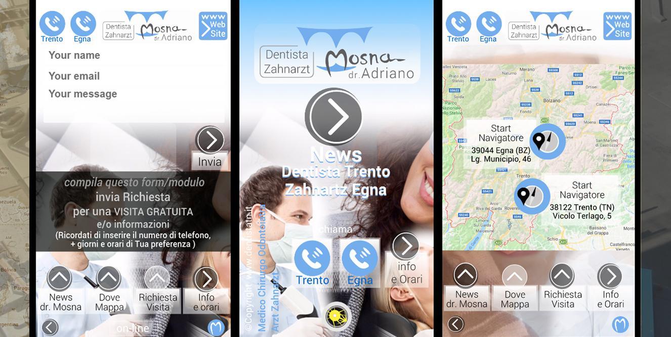 app DENTISTA TRENTO