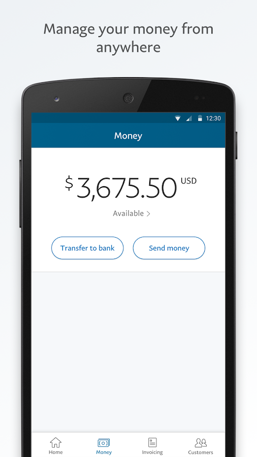 PayPal Business- screenshot
