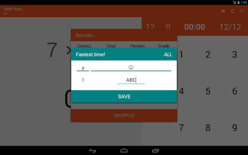 Multiplication Memorizer- screenshot thumbnail