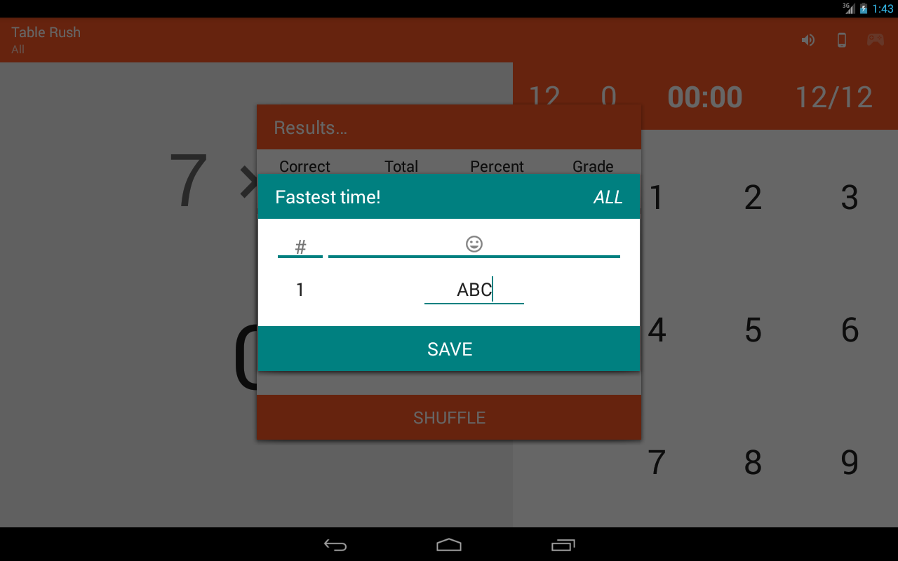 Multiplication memorizer android apps on google play multiplication memorizer screenshot gamestrikefo Images