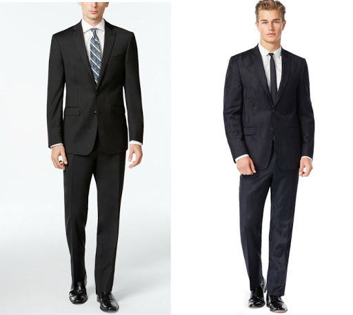 Calvin Klein Men's Suits Just.