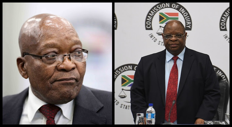 The secret is out! Zondo had a child with a sister of one of Zuma's wives