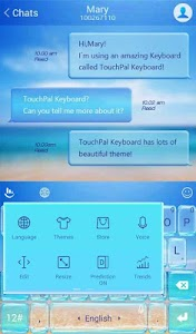 TouchPal Cool Summer Theme screenshot 3