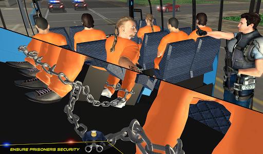 US Police Bus Transport Prison Break Survival Game 4.0 screenshots 10