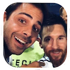 Selfie com Messi icon