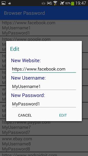 玩工具App|Browser Password Recovery/Edit免費|APP試玩