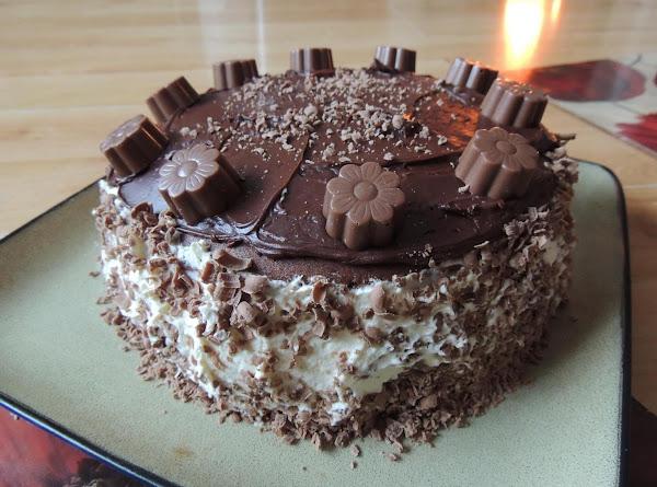 Monday's Chocolate Surprise Cake Recipe