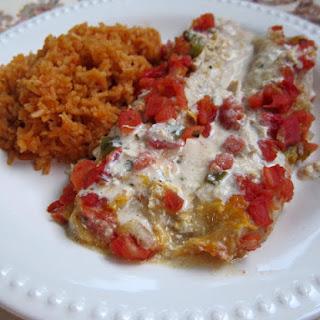 Chicken Chalupas Casserole.