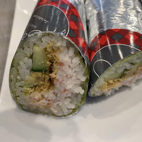 California Crunch Sushi Burrito