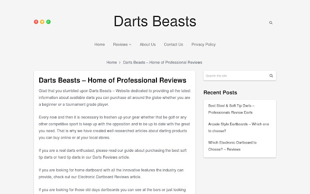 Best Darts and Electronic Dartboards Reviews