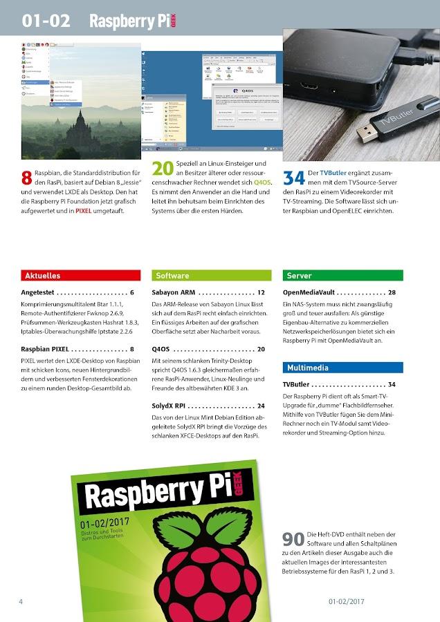 Raspberry Pi Geek (DE)- screenshot
