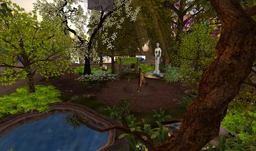 Photo: The Forest, = http://maps.secondlife.com/secondlife/DreamSeeker%20SL9B%20Nine/225/25/21
