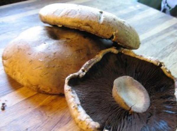 Marinated Portobello Mushrooms With Provolone Recipe