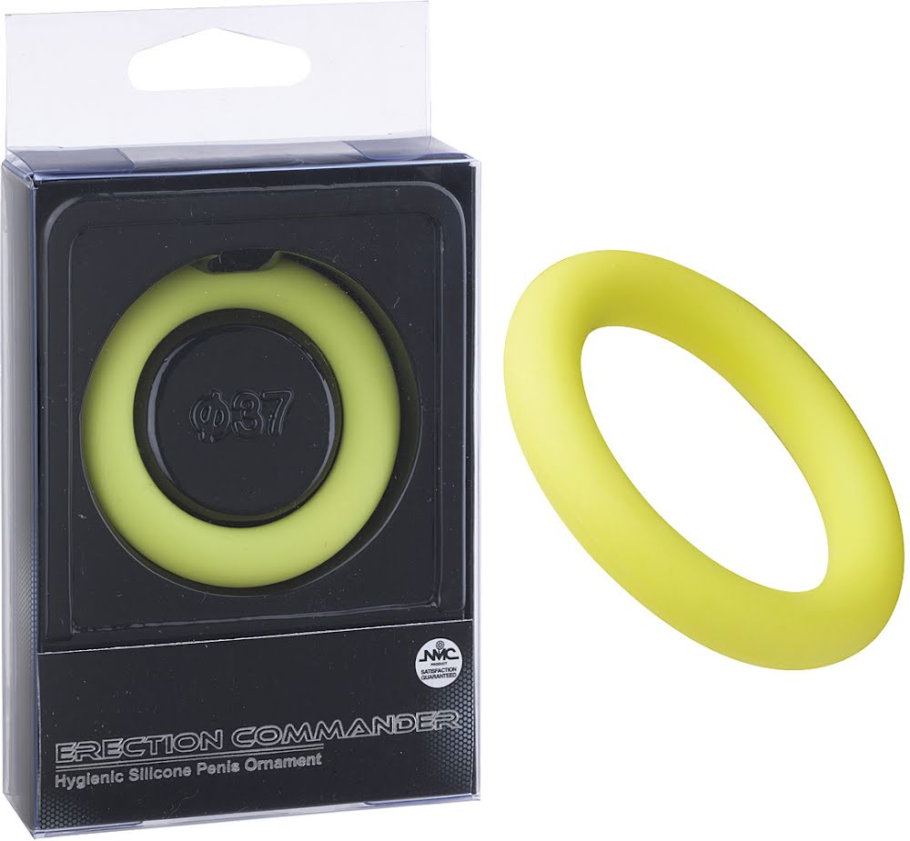 Erection commander 37 mm Silicone ring green