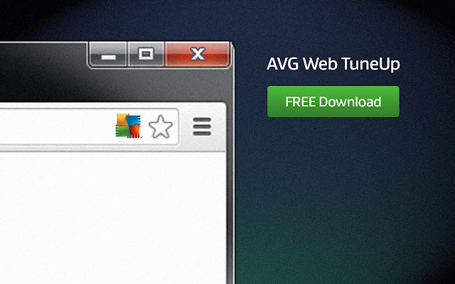 AVG Web TuneUp chrome extension