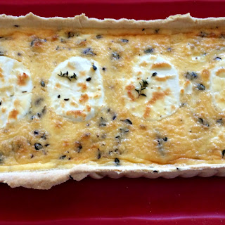 Caramelized Onion and Goat's Cheese Tart