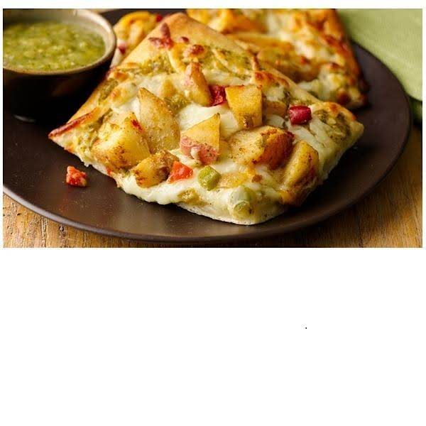 Grilled Potato And Roastede Salsa Verde Pizza Recipe